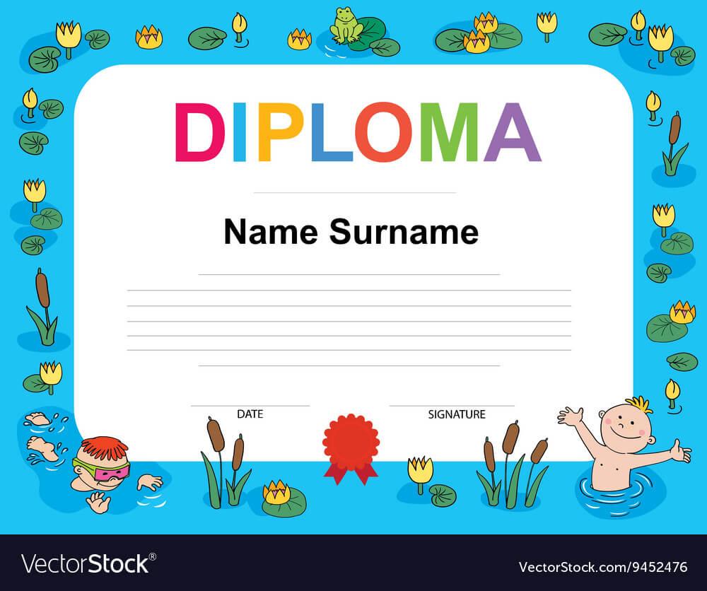 Swimming Award Certificate Template Regarding Free Swimming Certificate Templates