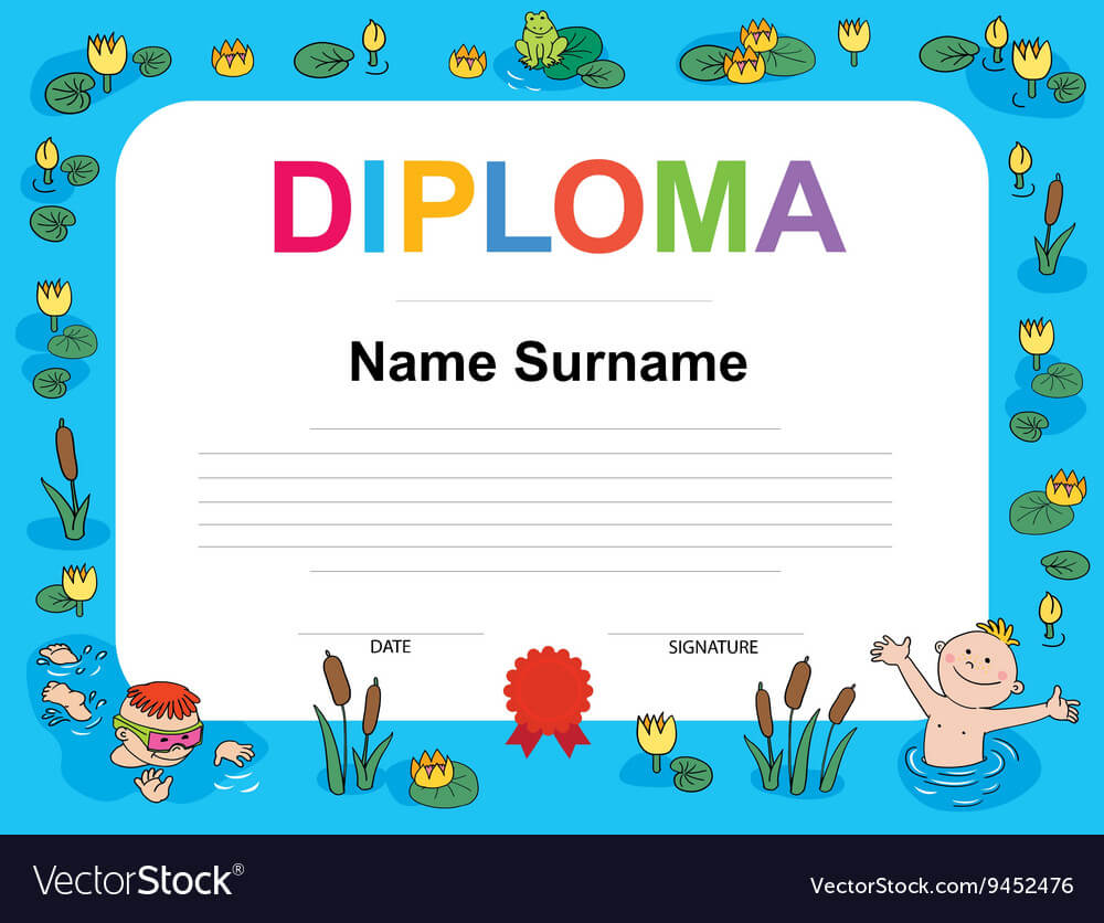 Swimming Award Certificate Template Regarding Swimming Certificate Templates Free