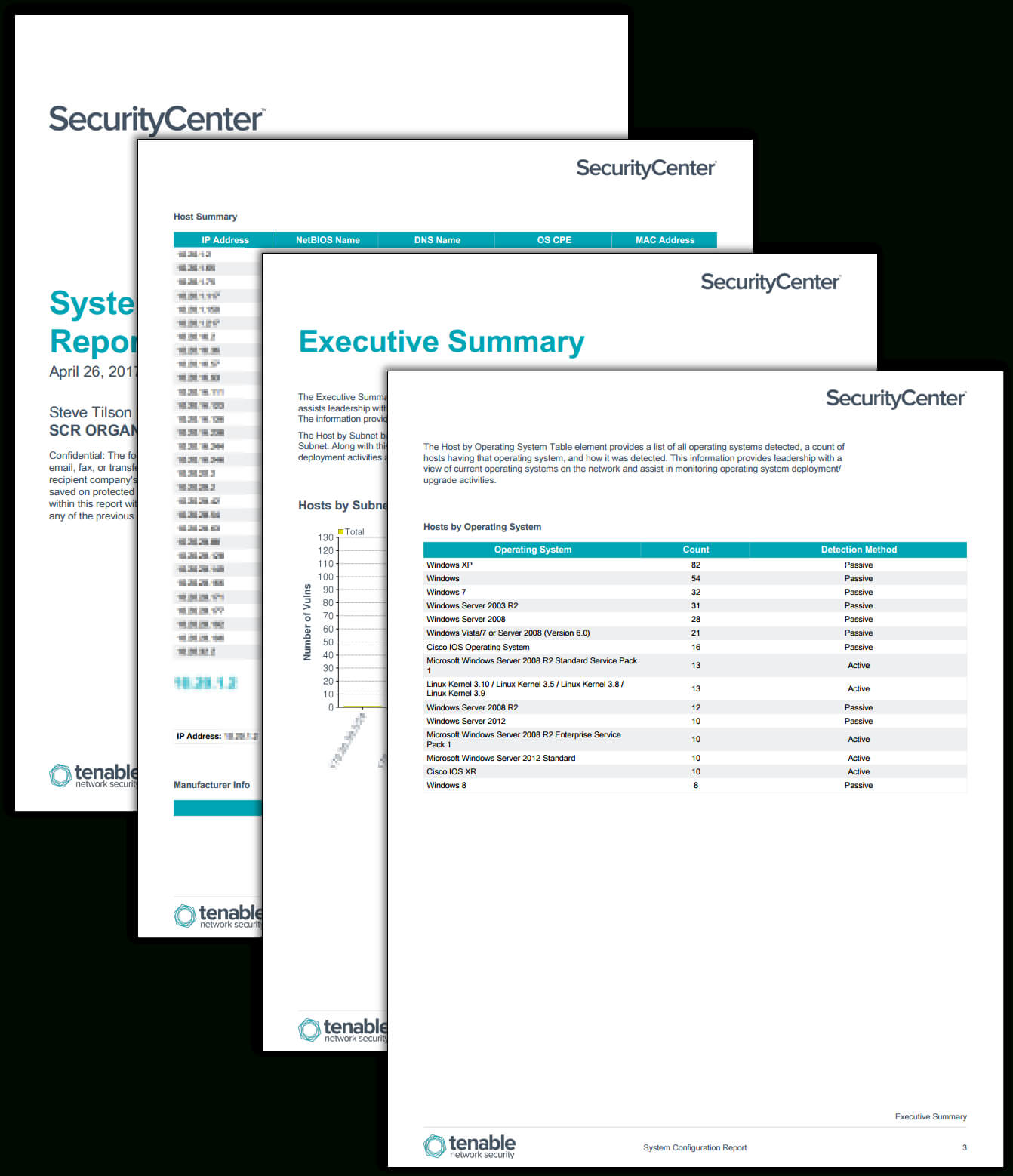 System Configuration Report – Sc Report Template | Tenable® For Nessus Report Templates