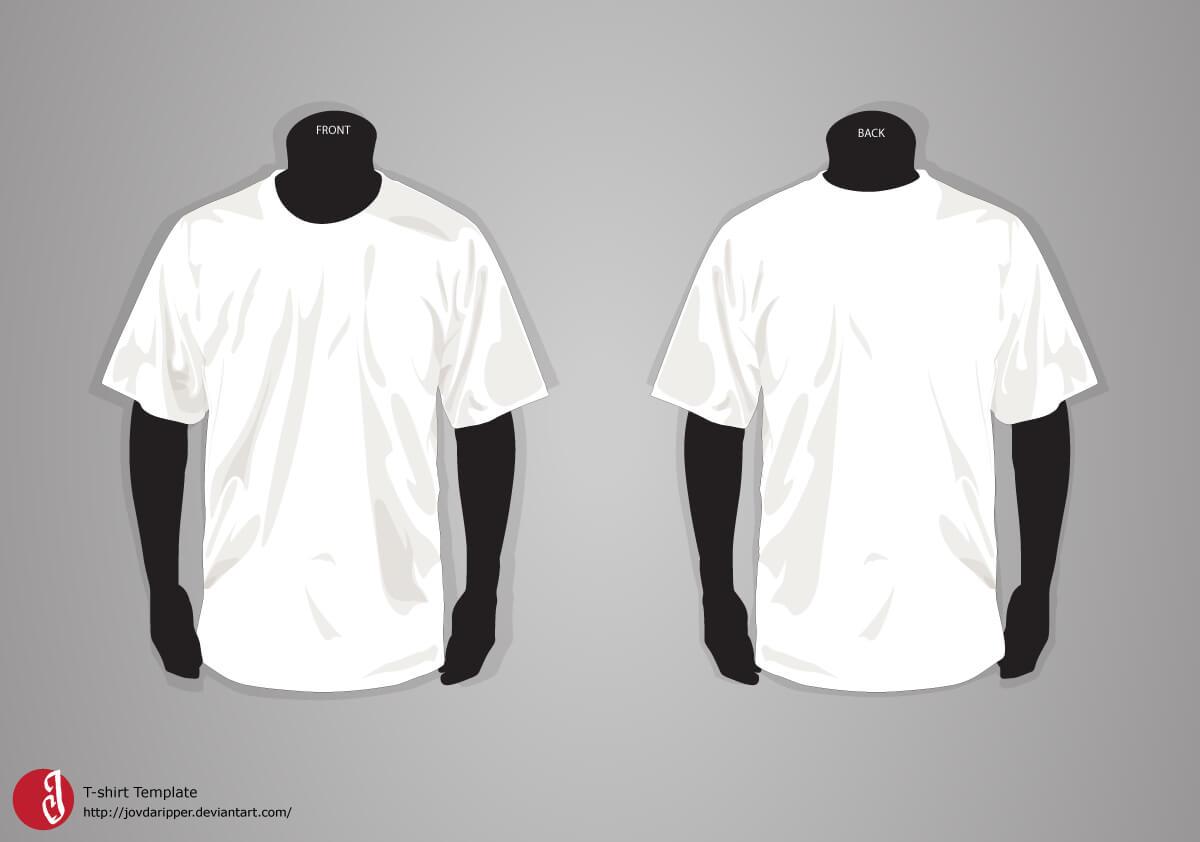 T Shirt Template Updatejovdaripper.deviantart Throughout Blank T Shirt Design Template Psd