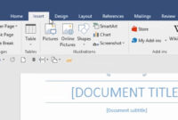 Table Of Contents In Word 2016 | Table Of Contents Template throughout Microsoft Word Table Of Contents Template