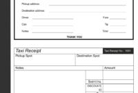Taxi Receipt Templates | Receipt Template, Templates, Taxi inside Fake Credit Card Receipt Template