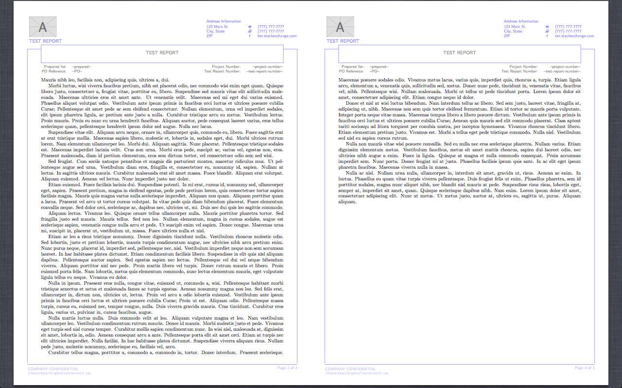 Technical Report Template Latex ] - Latex Templates 187 For Latex Template Technical Report
