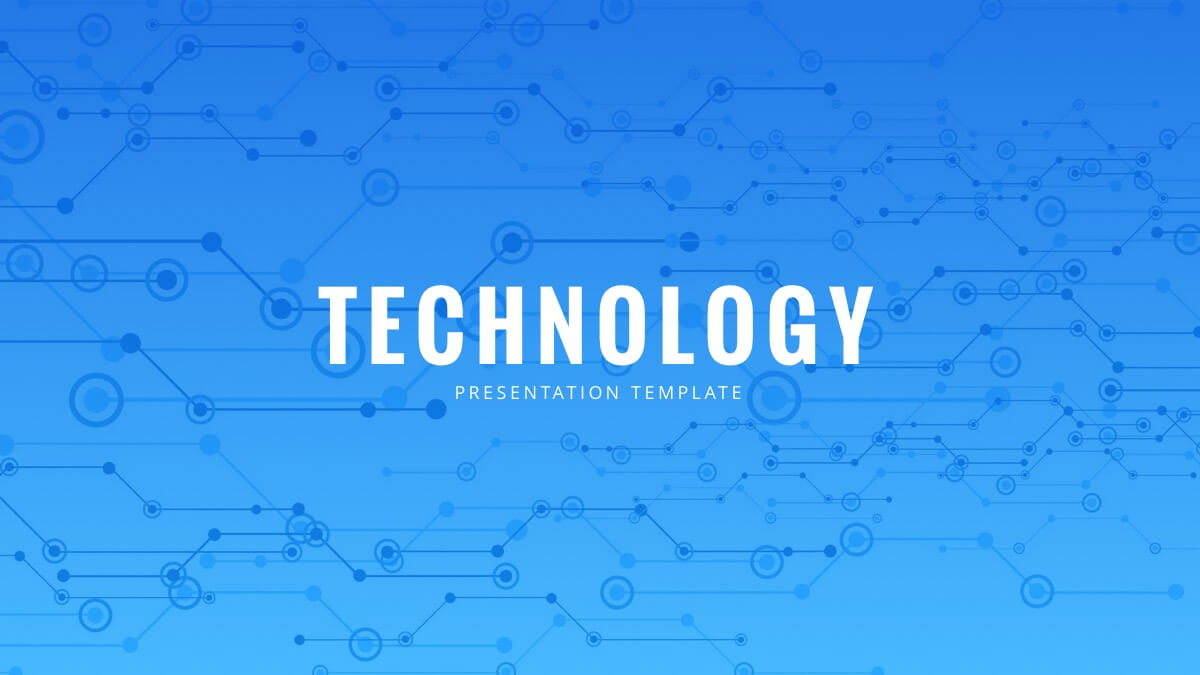 Technology Powerpoint Template - Free Powerpoint Presentation Pertaining To Powerpoint Templates For Technology Presentations