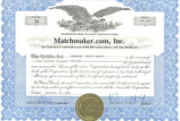Technology Stock Certificates – Google Search | Certificate within Corporate Share Certificate Template