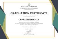 Template Certificate Of Graduation Fresh Certificate inside Pages Certificate Templates