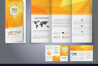 Template Design Three Fold Flyer Brochure in Free Three Fold Brochure Template