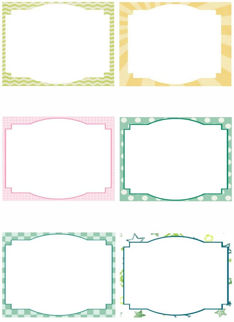 Template For Note Cards – Forza.mbiconsultingltd For Free Printable Blank Greeting Card Templates