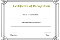 Template Free Award Certificate Templates And Employee for Anniversary Certificate Template Free