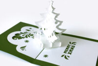 Template Pop Up Card «Christmas Tree» Pertaining To Pop Up Tree Card Template