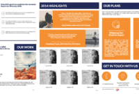 Templates: Black Friday Poster And Annual Report For Ngo with Ngo Brochure Templates