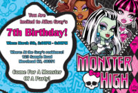 Templates Monster Free Download ] – Resume Download Template regarding Monster High Birthday Card Template