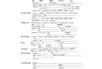 Templates Nursing Report Sheets   Shift Report Sheet in Shift Report Template