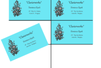 Ten Card Template For Gimp Business Cards | Wimpy Tricks For intended for Gimp Business Card Template