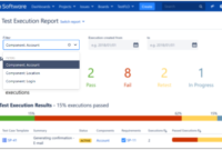 Test Execution Report inside Test Case Execution Report Template