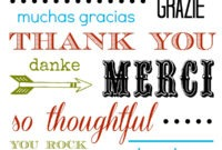 Thank You Card Free Printable inside Soccer Thank You Card Template