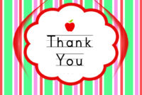 Thank You Cards For Teachers Backgrounds For Powerpoint in Thank You Card For Teacher Template