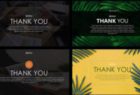 Thank You Slide Free Powerpoint Template regarding Powerpoint Thank You Card Template