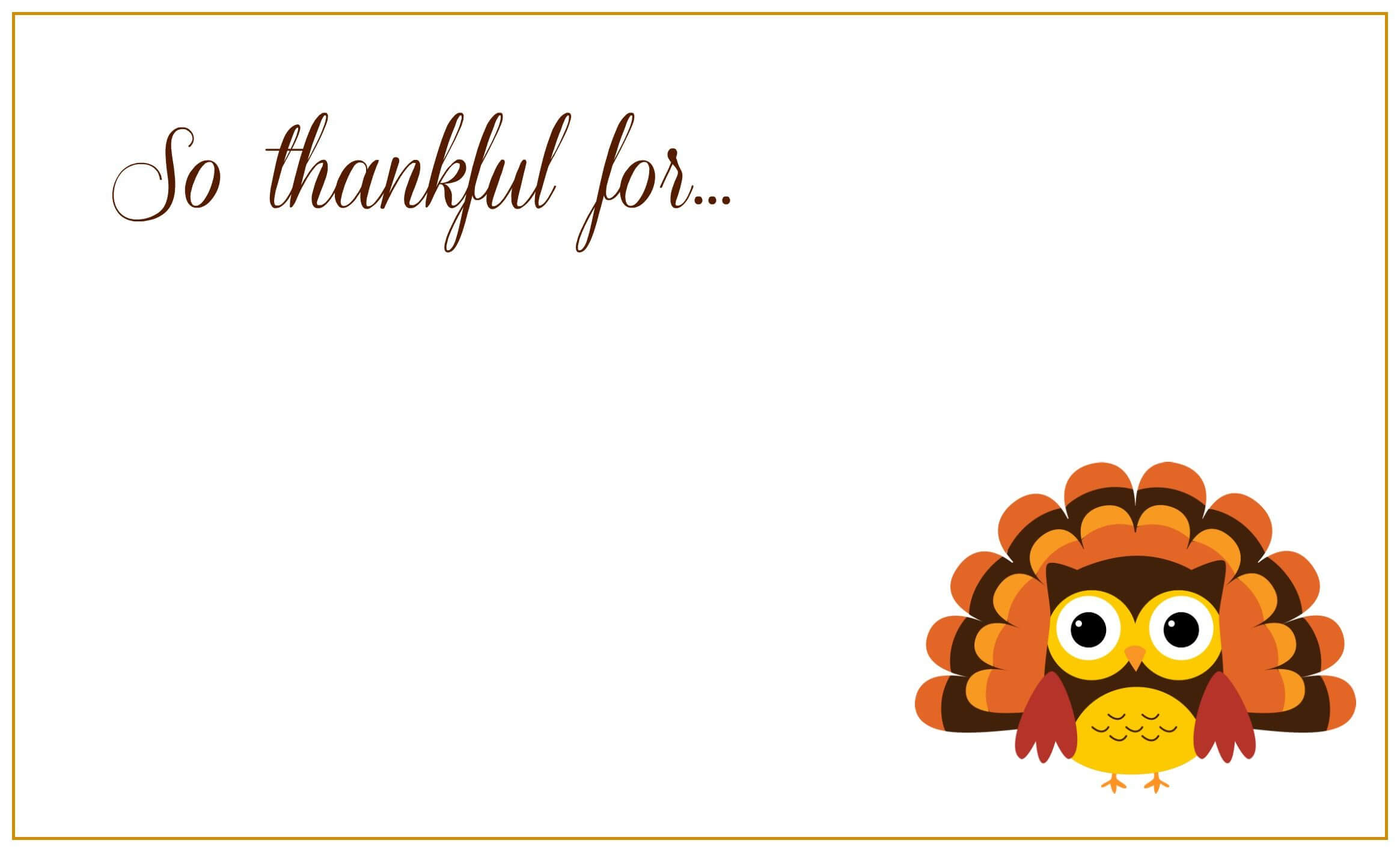 Thanksgiving Place Cards | Thanksgiving Place Cards With Regard To Thanksgiving Place Cards Template