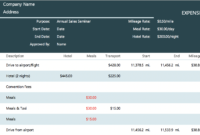 The 7 Best Expense Report Templates For Microsoft Excel inside Expense Report Template Xls