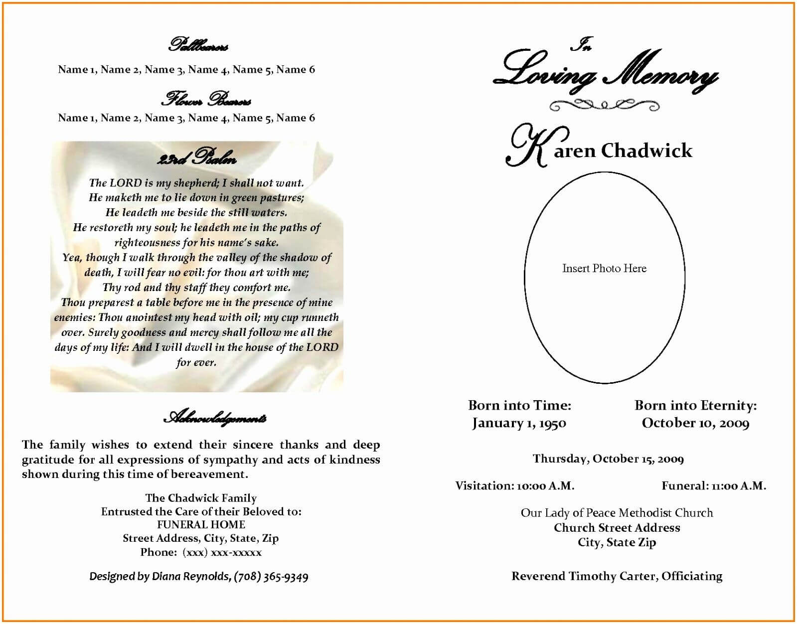 The Amazing 015 Free Printable Obituary Templates Beautiful Pertaining To Obituary Template Word Document