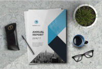 The Annual Report Template #brochure #template #indesign throughout Annual Report Template Word Free Download