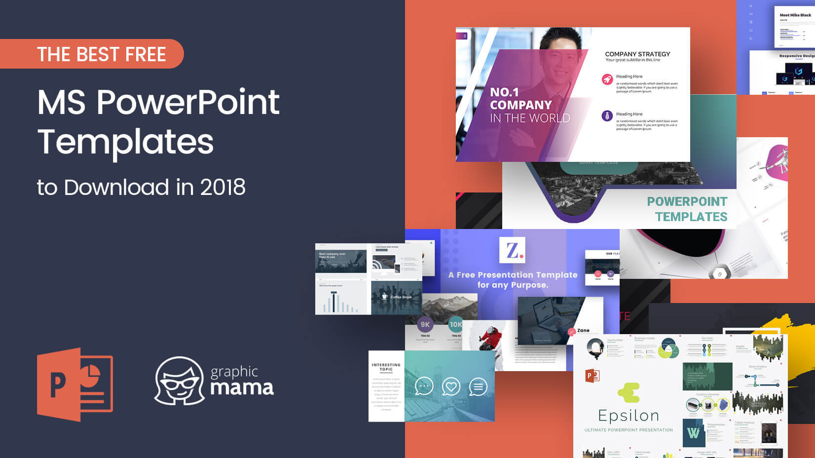The Best Free Powerpoint Templates To Download In 2018 Throughout How To Design A Powerpoint Template