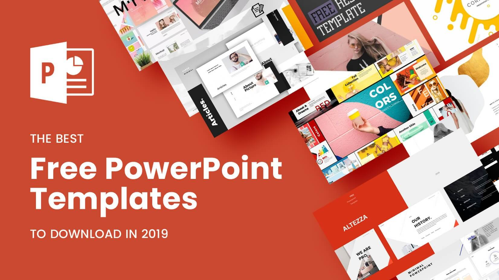 The Best Free Powerpoint Templates To Download In 2019 Within Powerpoint Slides Design Templates For Free