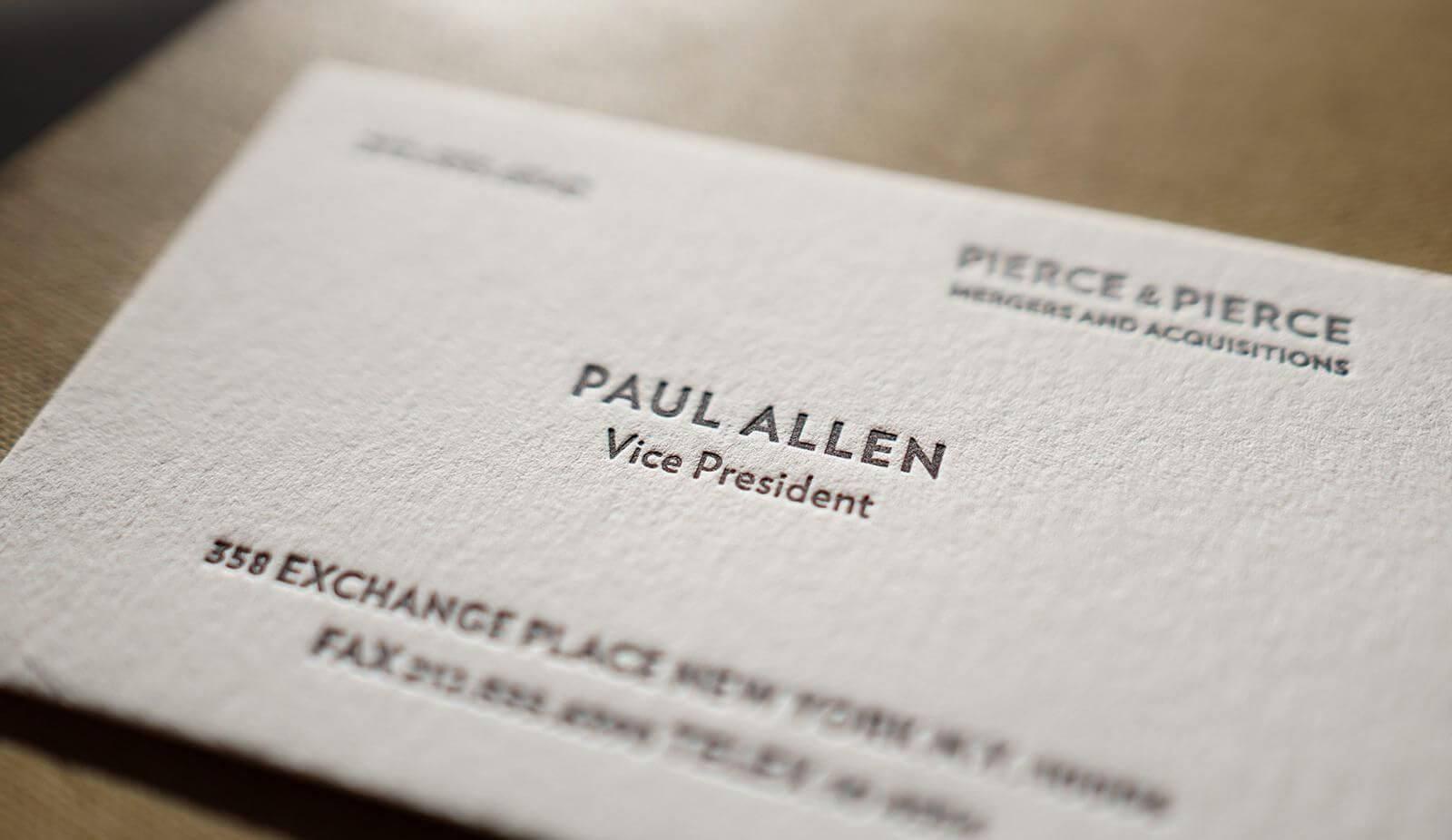 The Better Paul Allen Calling Card | Business Card Fonts Intended For Paul Allen Business Card Template