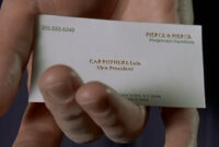 The Business Cards Of American Psycho | Hoban Cards For Paul Allen Business Card Template