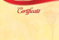 The Certificate Template «Rhythmic Gymnastics» – Dimaker pertaining to Gymnastics Certificate Template