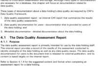 The Cihi Data Quality Framework – Pdf Free Download regarding Data Quality Assessment Report Template
