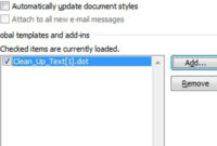 The Fast, Free Way To Clean Up Text In Ms Word – Cnet within Word 2010 Templates And Add Ins