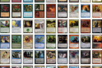 The Graphic Design For Magic, The Gathering Card Frames in Magic The Gathering Card Template