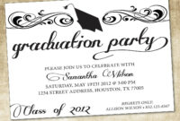 Themes College Graduation Invitations Free Printable As Well pertaining to Free Graduation Invitation Templates For Word