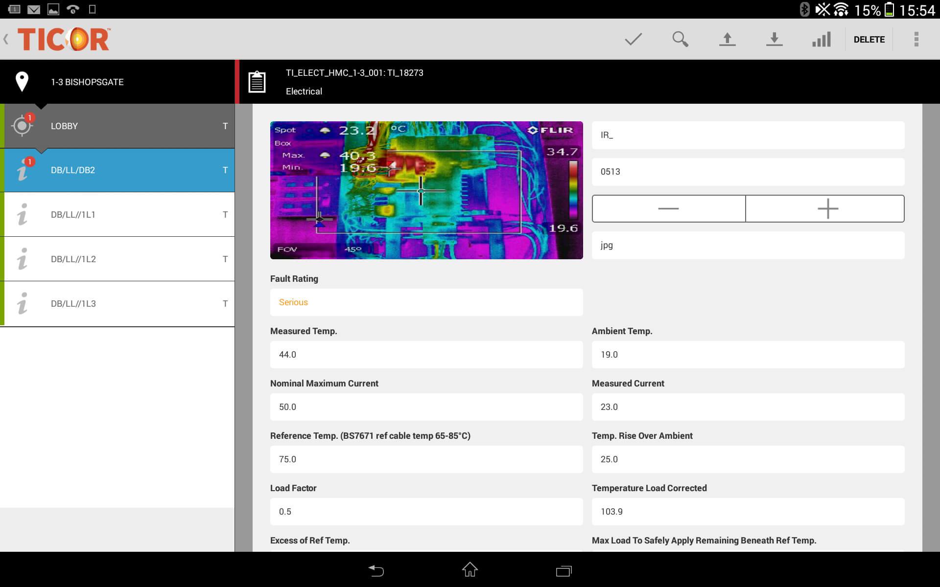Thermal Imaging Software - Ticor Regarding Thermal Imaging Report Template