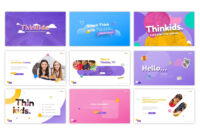 Thinkids – Fun Games & Education Powerpoint Template #85130 with Powerpoint Template Games For Education
