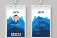 This Id Card Template Perfect For Any Types Of Agency for Id Card Template For Microsoft Word