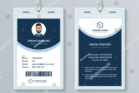 This Id Card Template Perfect For Any Types Of Agency throughout Free Id Card Template Word