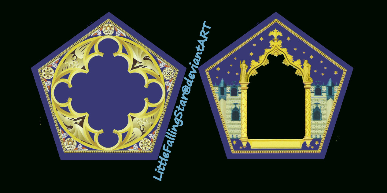 This Is A Harry Potter Chocolate Frog Card Template. Insert In Chocolate Frog Card Template