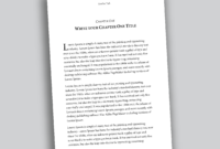 This Is A Professional Looking 6X9 Book Template In within How To Create A Book Template In Word