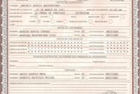 This Is Mexican Birth Certificate Psd (Photoshop) Template intended for Novelty Birth Certificate Template