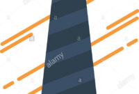 Tie, Business, Dress, Fashion, Interview Flat Color Icon with regard to Tie Banner Template