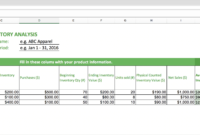 Top 10 Inventory Excel Tracking Templates – Sheetgo Blog inside Stock Analysis Report Template