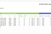 Top 10 Inventory Excel Tracking Templates – Sheetgo Blog pertaining to Stock Report Template Excel