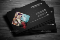 Top 26 Free Business Card Psd Mockup Templates In 2019 throughout Name Card Template Photoshop