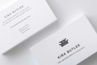 Top 32 Best Business Card Designs & Templates throughout Generic Business Card Template