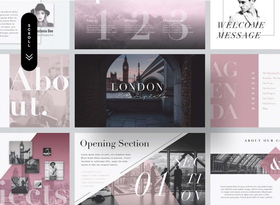 Top 37 Free Templates For Apple Keynote 2019 - Colorlib Inside Keynote Brochure Template