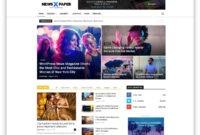 Top 50+ News Magazine WordPress Themes 2019 – Colorlib with regard to Magazine Ad Template Word