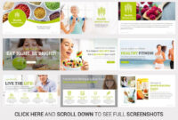 Top Nutrition Powerpoint Template Nutrition#template#top For Nutrition Brochure Template